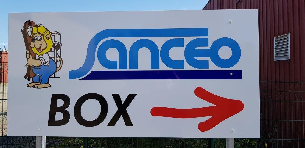 location box Sancéo Quimper